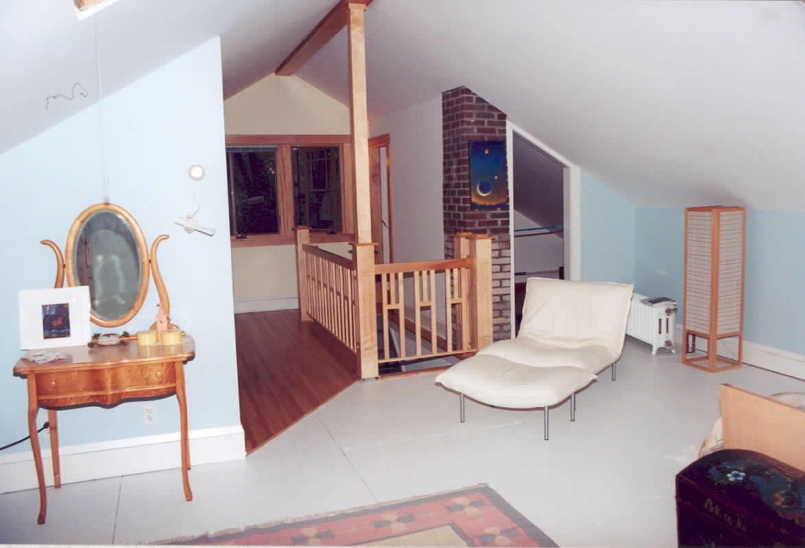 Upper floor addition