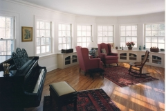 Sunroom living area addition