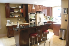 Kitchen remodel by Whole Builders