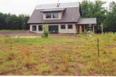 New solar home construction by Whole Builders
